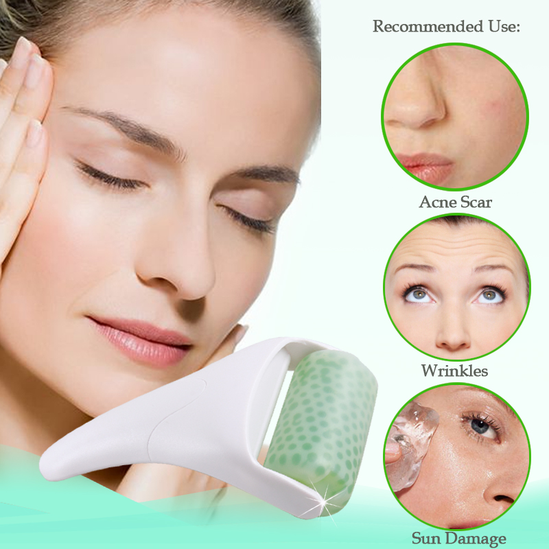 Skin Cool Ice Roller Face Body Facial Massager Cold Therapy Skin Rejuvenation preventing wrinkles Iced wheel Calm Cool Smooth