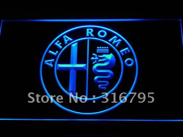 d146-b Alfa Romeo Car Services Parts LED Neon Light Sign(China (Mainland))