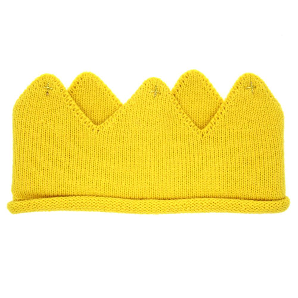 68f3137b403 Hot And Nice Design Woolen Yarn Cute Baby Boys Girls Crown Knit ...