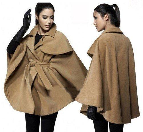 JA003 New Womens Fashion Cape Poncho Outwear Jacket Coat ...