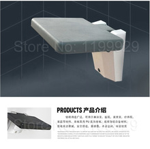 NEW ARRIVAL GOOD PPS+Aluminium Rectangle Wall Mounted Folding Shower Seat(China (Mainland))