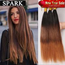 Aliexpress 6th anniversary sale your 1st yearly time to get nice ombre brazilian virgin hair straight 3pcs 1b 430 27 brazilian hair weave bundles spark hair store pmusecretfo Gallery