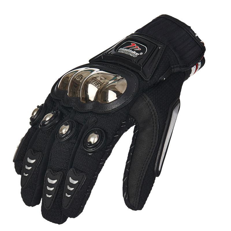 Madbike MAD-01S Motorcycle Gloves Protective Sports Road Racing Safty TITANIUM Motorbike guantes luvas para moto motocicleta