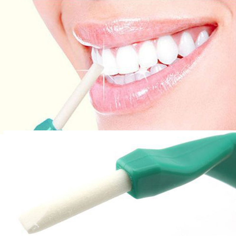 Cheap Teeth Care Cleaning Tools Tooth Dental Equipment Peeling Stick + 25 Pcs Eraser For Dental Cleaning High Quality(China (Mainland))