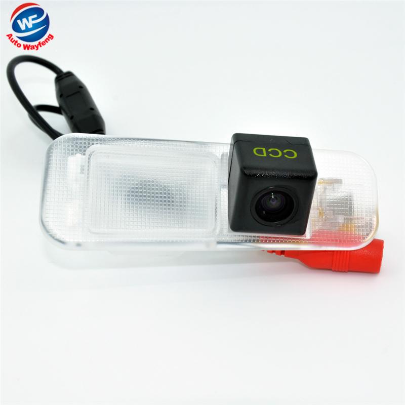 Free shipping HD CCD Car rear view Camera Backup Camera for Kia K2 Rio HD chip night vision waterproof CCD HD camera(China (Mainland))