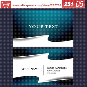 0251-05 business card template for speciality envelopes business cards sample design your own card<br><br>Aliexpress