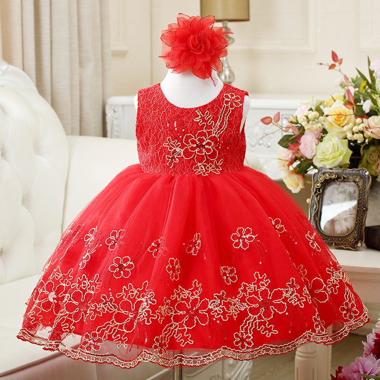 New Christmas girl dress for party wedding sleeveless sequin lavender red bow belt with cotton lining(China (Mainland))
