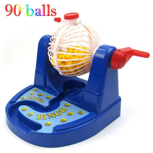 90s Toy Ball : Ball cards chips bingo game machine ernie