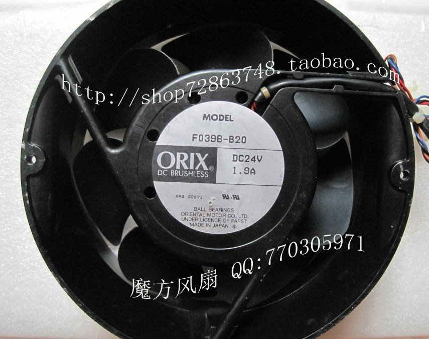 Original authentic Japanese ORIX Eastern F0398-B20 24V 1.9A 4P Need fan<br><br>Aliexpress