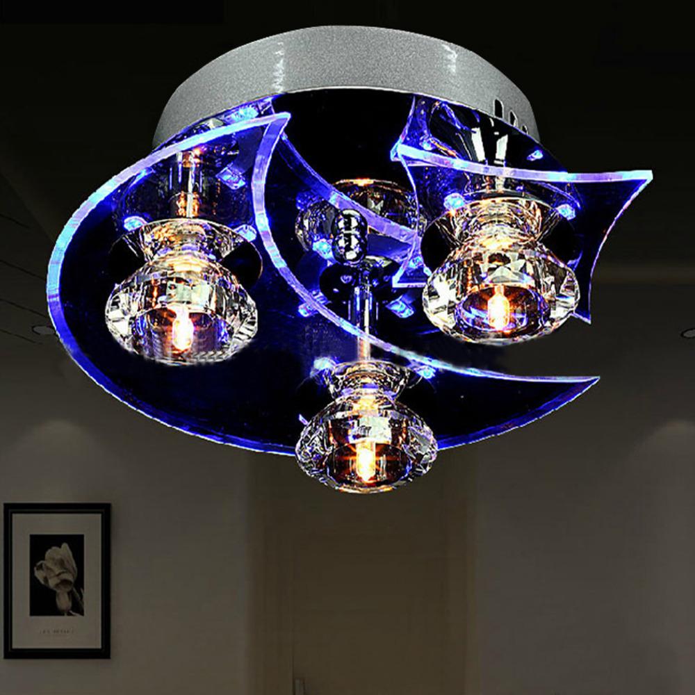 homestyle 달과 별 현대적인 크리스탈 샹들리에 식당 천장 램프 ...