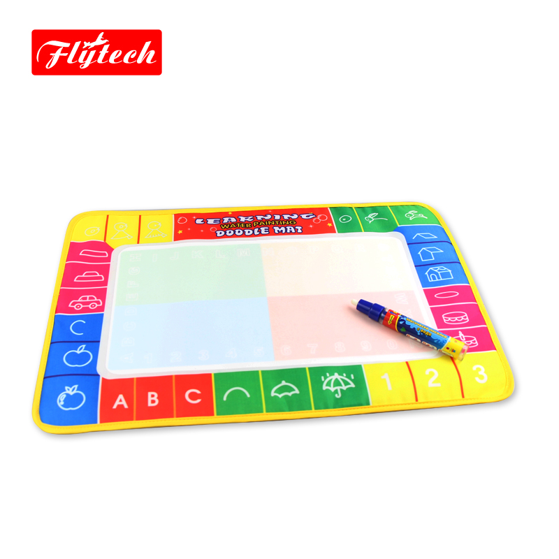 FT1323 45x29cm Multicolor Magic Drawing Toy Doodle Water Drawing Mat/Drawing Board/Baby Game Rug(China (Mainland))