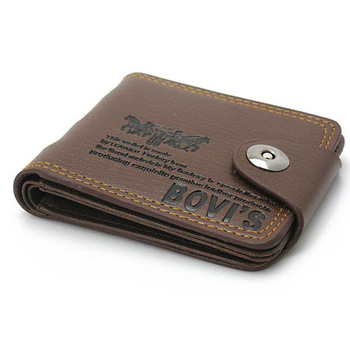 2015 Top New Arrival Hasp Men Solid Polyester Short Wallets Best Selling! Money Purses Leather Bags Brands Wallets Mens 2 Colors