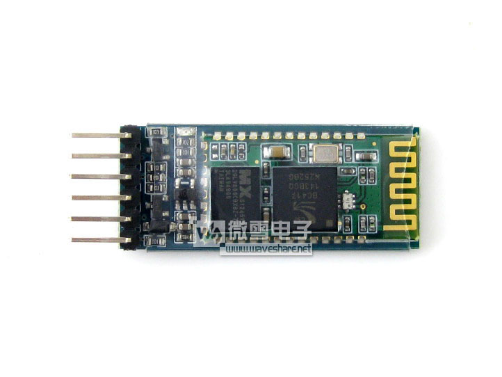 Free Shipping! 1pc Bluetooth Slave Wireless Serial Adapter Bluetooth module(China (Mainland))