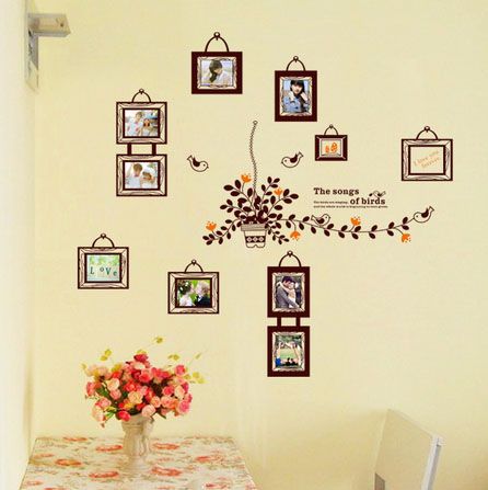 Medium 49in*47in PVC DIY HD High-grade room wall photo on wall decoration souvenirs Children living room home decoration style(China (Mainland))