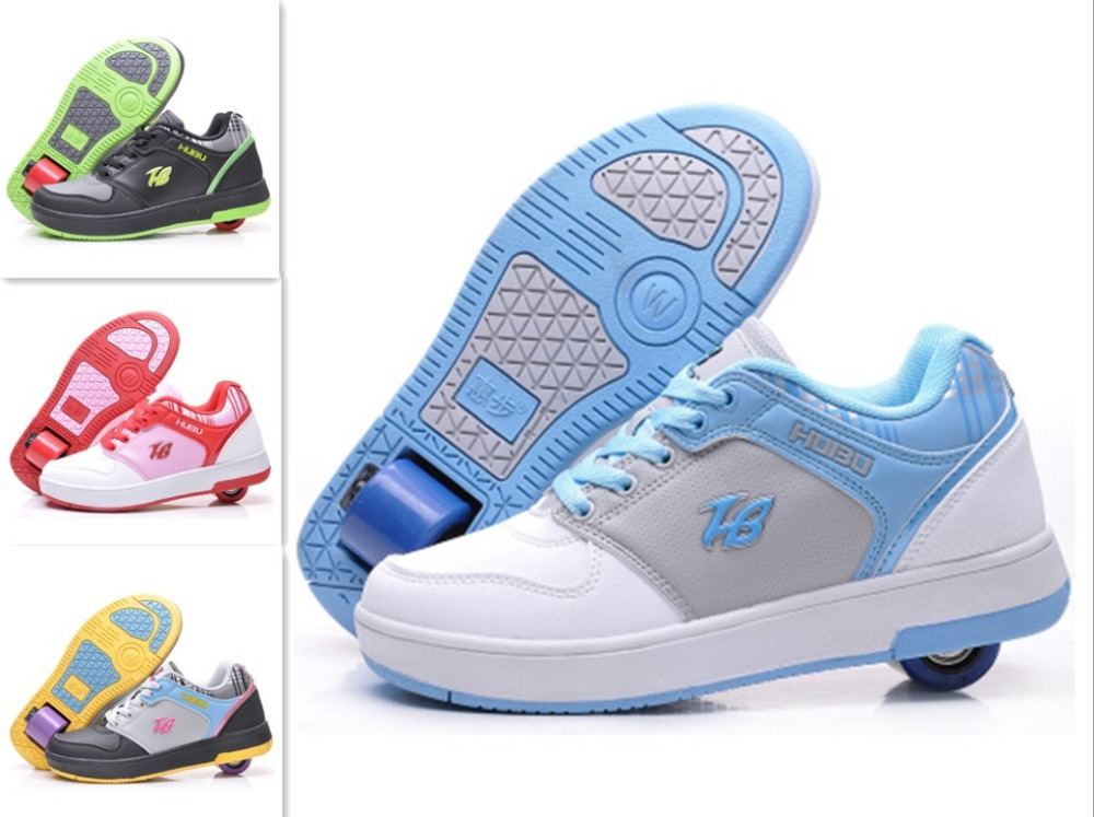 PU Children Flying Shoes one wheel fashion Kids Sneakers Boys girls child Roller Shoe sports casual Size 30-41