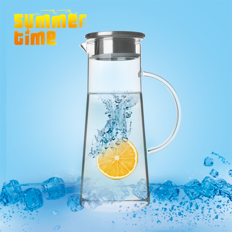 Online buy wholesale heat resistant glass pitcher from china heat resistant glass pitcher - Heat proof pitcher ...