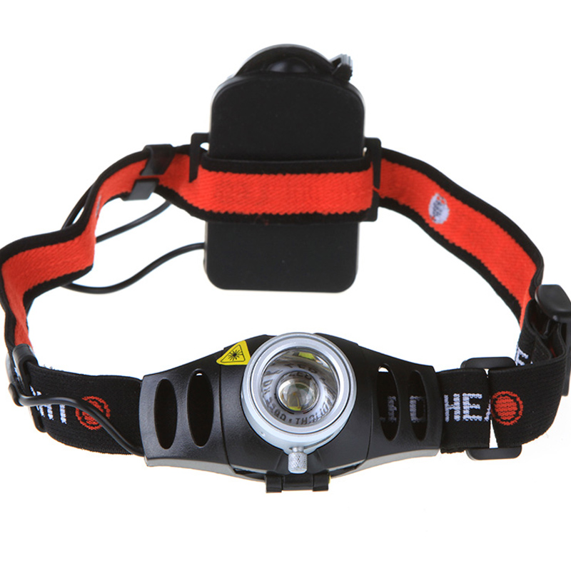 Ultra Bright 500 Lumen Q5 LED Headlamp Headlight Zoomable Waterproof Aluminum Alloy Self Safety Outdoor Hunting Fishing Light(China (Mainland))