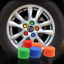 20PCS/LOT,Car rims screw cap cover,Red black blue yellow Green Orange,free shipping(China (Mainland))