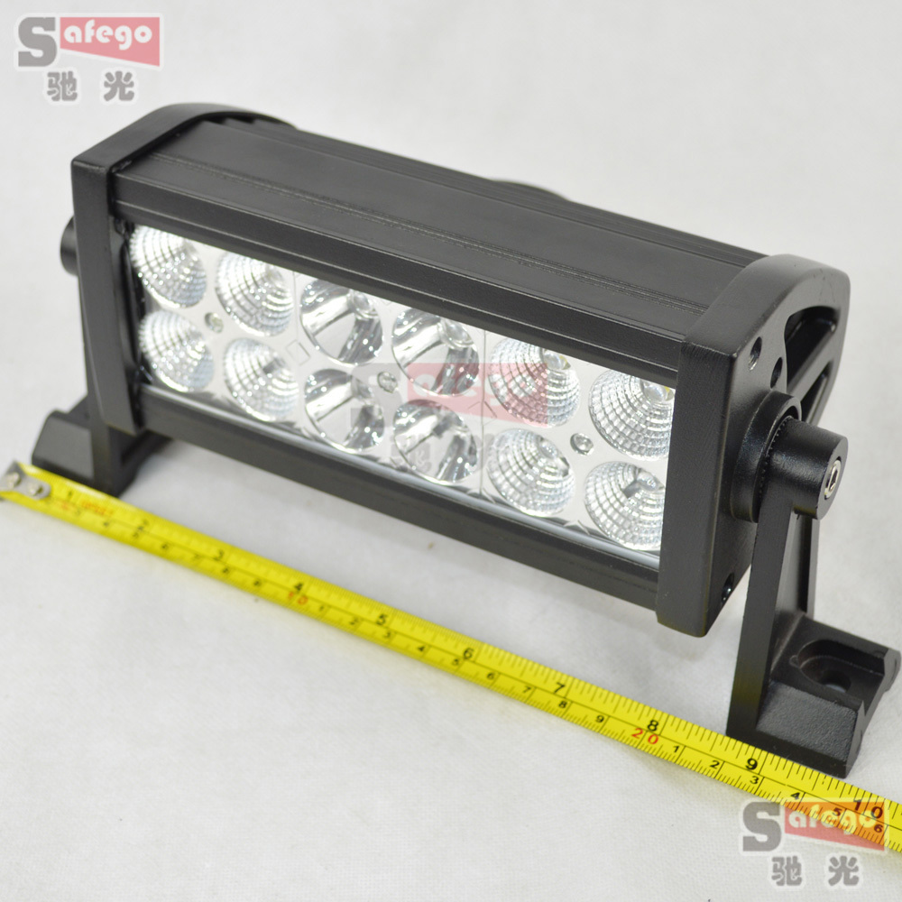 buy 2 pcs 12 volt led light bar 36w 12pcs. Black Bedroom Furniture Sets. Home Design Ideas