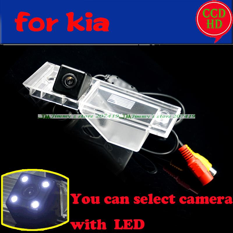 wire wireless car rear view camera for 2011 2013 KIA VQ for sony ccd with LEDS night vision wateproof Free shipping(China (Mainland))