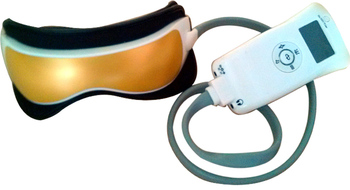 Free Shipping quality eye massager,Pressure Heat and Vibration available eye case equipment  HQ-365