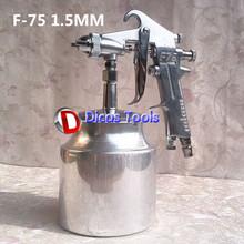 Пистолет горячая распродажа высокое F-75S 1.5 мм распыления краски