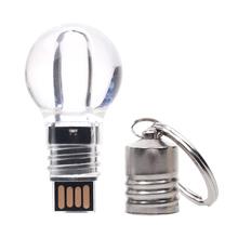 Light Bulb Shaped USB Flash Drive LED 4GB 8GB 16GB 32GB