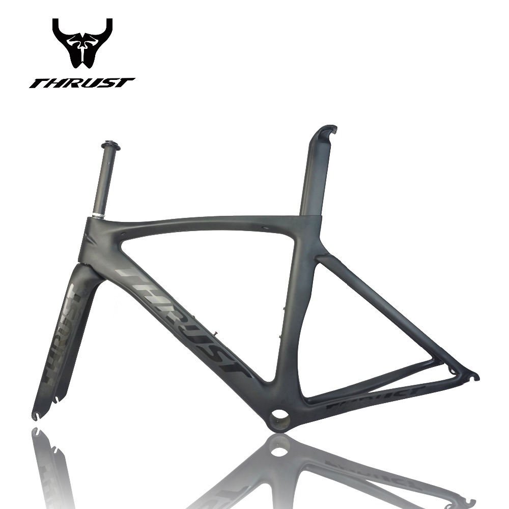 carbon frame carbon bike thrust ag racing carbon fiber ud 2 years warranty oem customized acceptable carbon road bike frame
