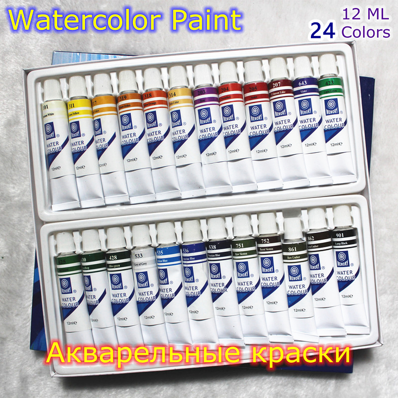 Professional brand watercolor paint paper pigment art for Professional painting supplies