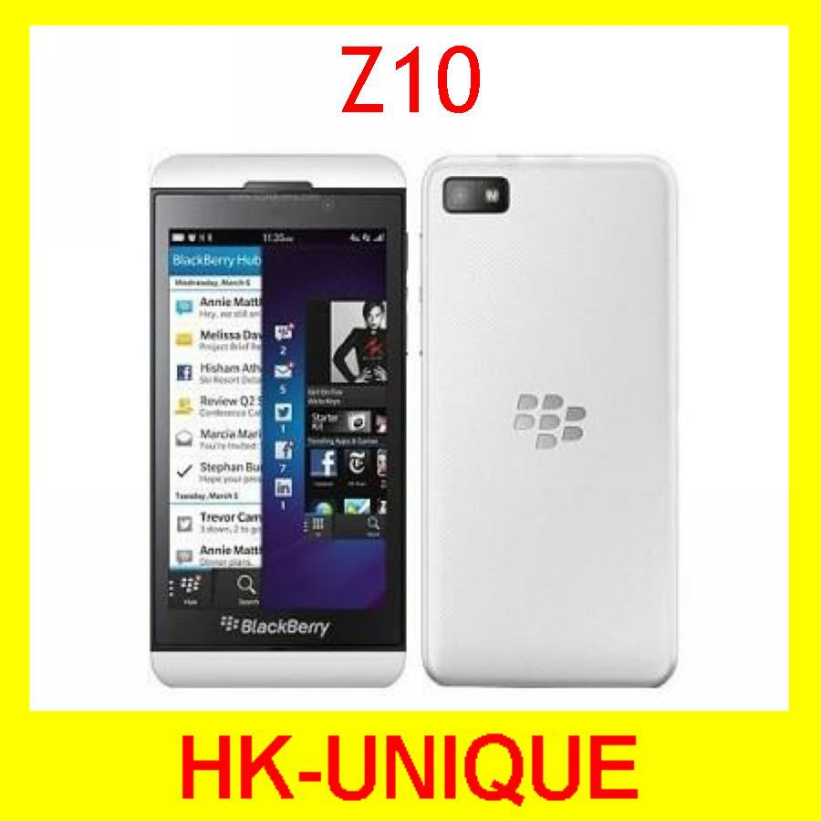 hot sell Latest Model Original Unlocked Blackberry z10 4.2 inch touch screen 4G network GPS smartphone in stock free shipping(China (Mainland))