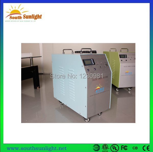 China cheapest wholesale price of Off-grid 130W solar home system /solar lighting system/solar panel system(China (Mainland))