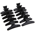12pcs set Butterfly Holding Hair Claw Section Styling Tools Hair Clip Clamps Care Hairpins Pro Salon