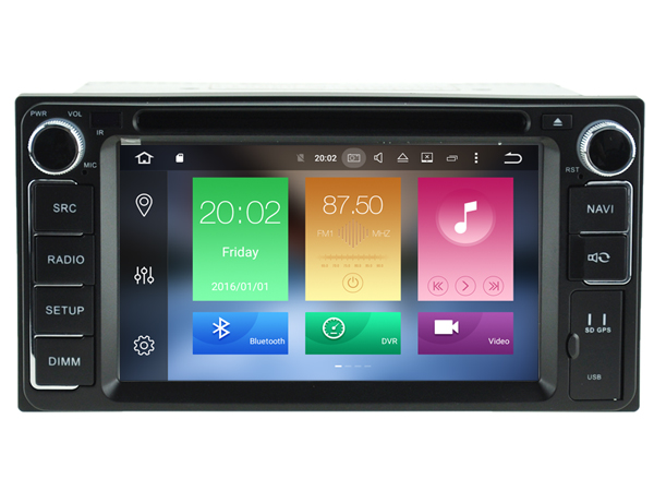 Android 6.0 CAR DVD GPS FOR TOYOTA Land Cruiser 100 series/Terios support DVR WIFI DSP DAB OBD Octa 8 Core 2GB RAM 32GB ROM