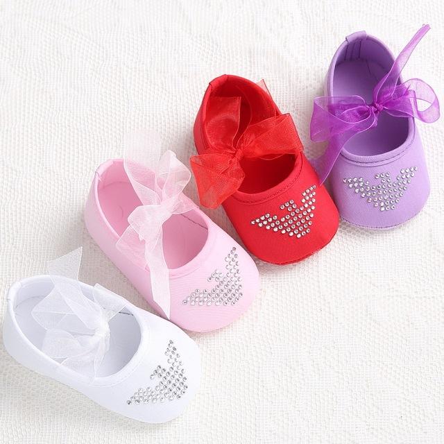 Новый сладкий младенцев малыша принцесса девушка первые ходунки мэри джейн балета ...