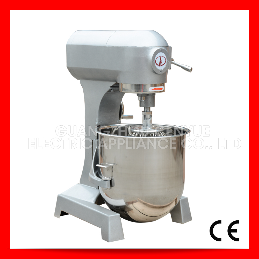 B25 electric multifunctional food mixer for make doughnuts kneading dough machine biscuits bakery equipment(China (Mainland))