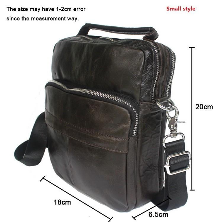 100% натуральной кожи мужская сумка новый дизайнер сумки модный дизайн мужчины кроссбоди сумки из натуральной кожи сумка с дорожная
