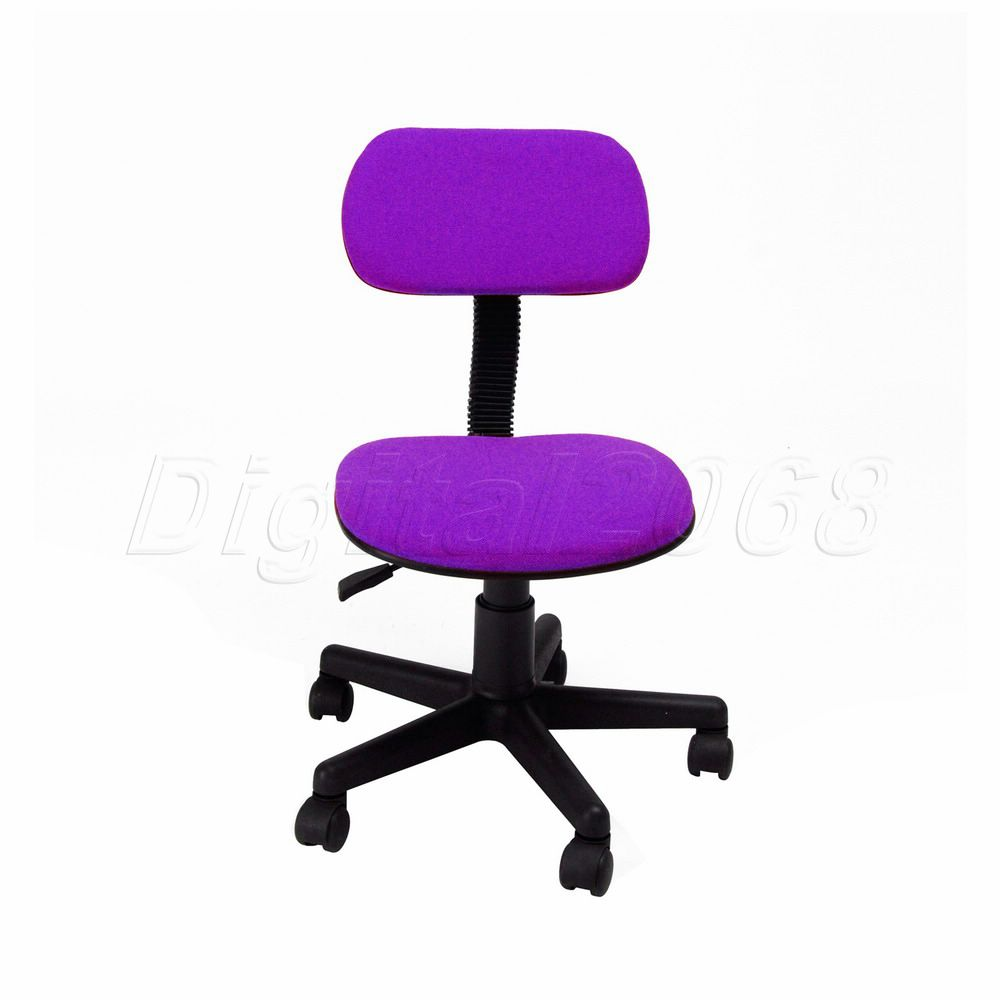 Modern Color Purple Swivel office chair Simple Desk chair computer ...