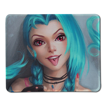 Buy League Legends Jinx Custom Mouse Pad Laptop Computer Mouse Pad Non-slip Rubber Pad Mouse Pads Decorate Desk for $2.24 in AliExpress store