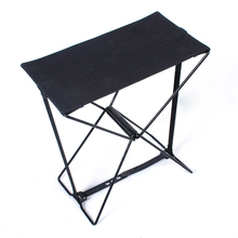 Black Portable Alumium Folding Stool Chair Fishing Camping Outdoor Seat + Carry Bag(China (Mainland))