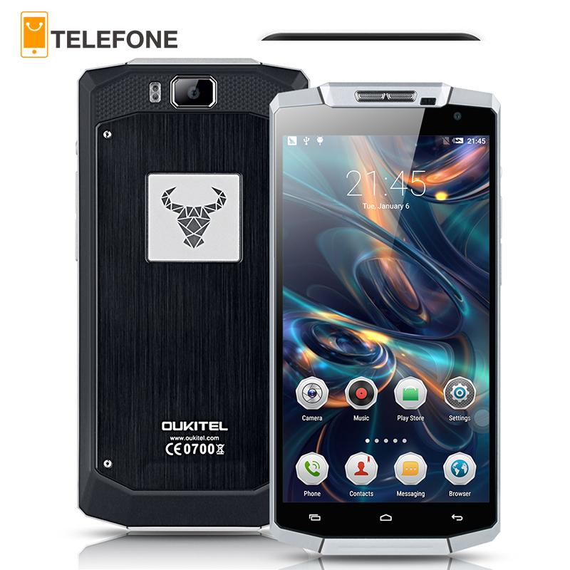 Original Oukitel K10000 4G FDD LTE Smartphone Android 5.1 Lollipop 5.5 inch 10000mAh Battery 2GB+16GB ROM 720P 13MP Mobile Phone