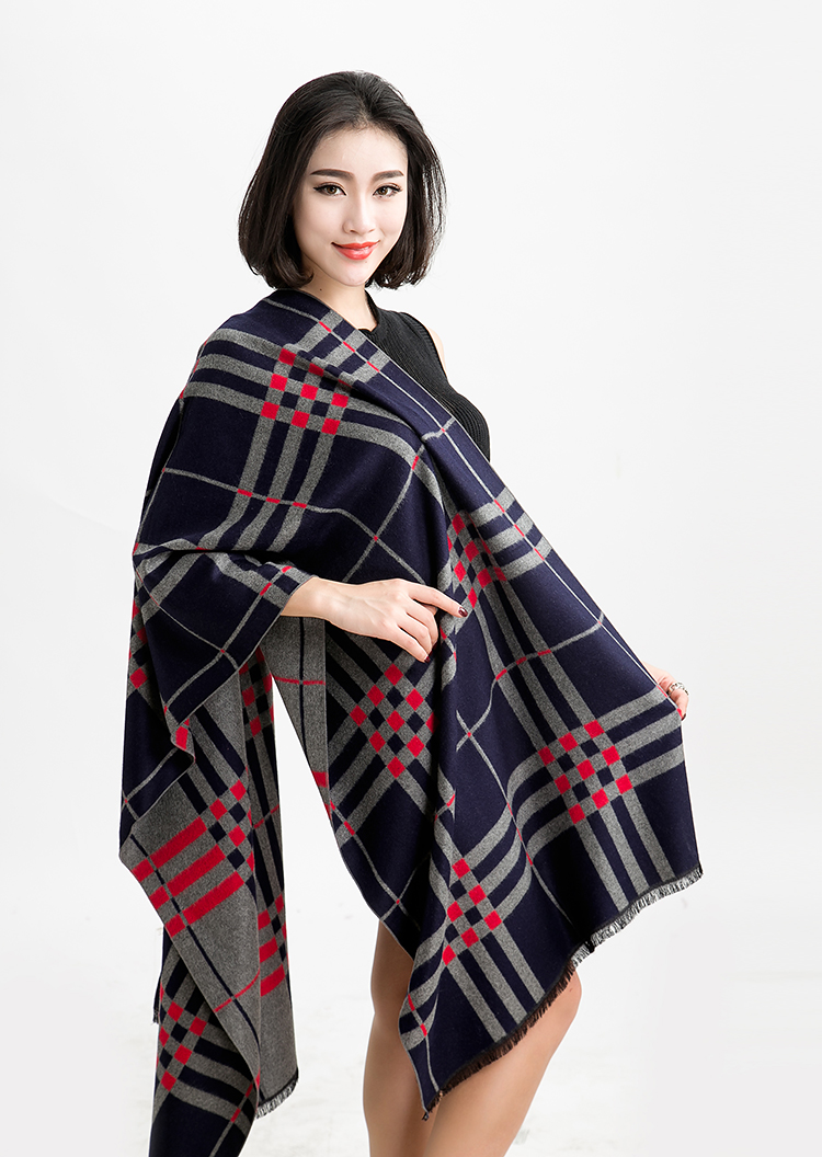 2016 New Fashion Scarf Plaid Scarves 100 Real Wool Lady Pushmina In Scarves From Women 39 S
