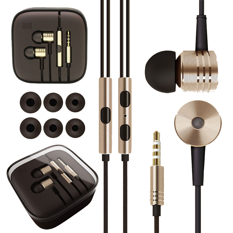 High Quality Headphones Stereo 3.5mm Jack Bass In Ear For MP3 player noise isolating Earphone For Mobile Phone With MIC