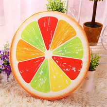 sale pillow toys creative personality 3D plush toys watermelon  fruit cushion sofa cushion pillow birthday gift Toys(China (Mainland))