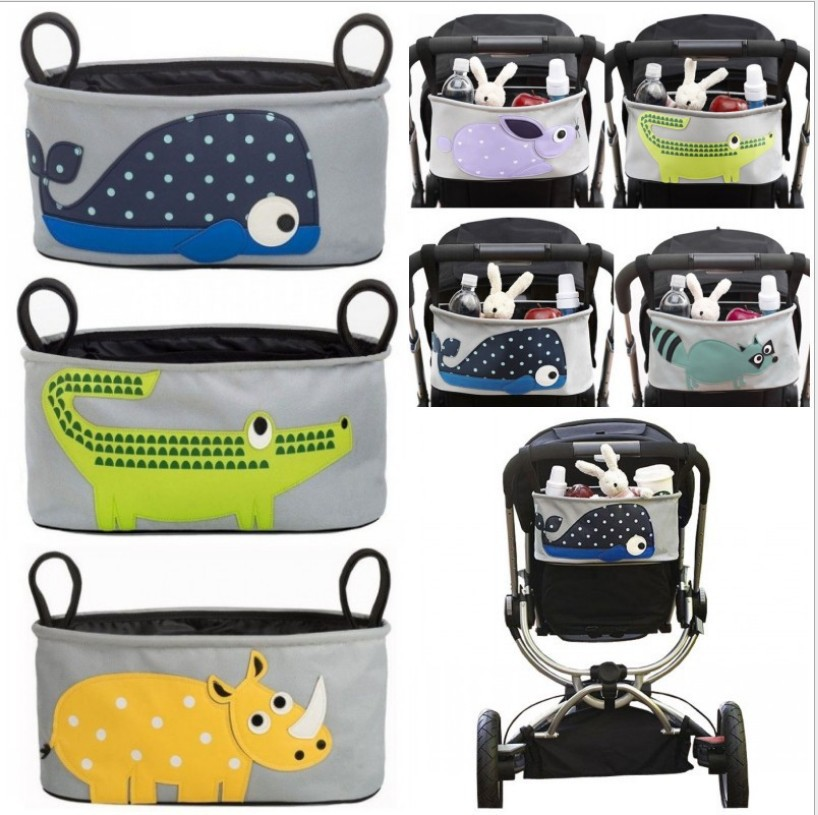 Baby Strollers Organizer Stroller Accessories Baby Carriage Pram Cart Bottle Diaper Bag Polyester Newborn Nappy Bag EVGD5001(China (Mainland))