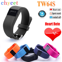 Buy 2016 TW64S Bluetooth 4.0 Smart Bracelet smartband IP67 Heart Rate Monitor Wristband Fitness Tracker Android iOS NO mi band 2 for $20.42 in AliExpress store