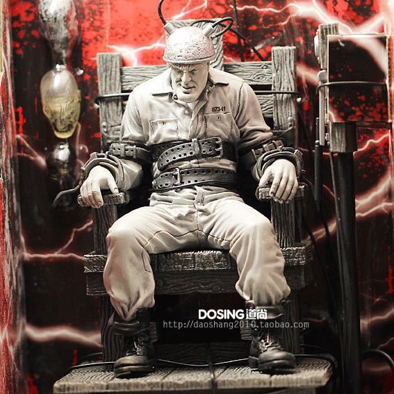 Animation Garage Kid Sin City Model Toys: NECA Action Figure PVC Dolls Marv withElectric Chair Model Decoration Excellent Gifts(China (Mainland))