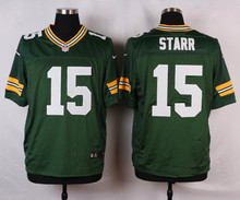 Top quality For Mens, Randall Cobb,Davante Adams,Bart Starr,Aaron Rodgers,Brett Favre, WHITE Green Rush stitched PIC Packer(China (Mainland))