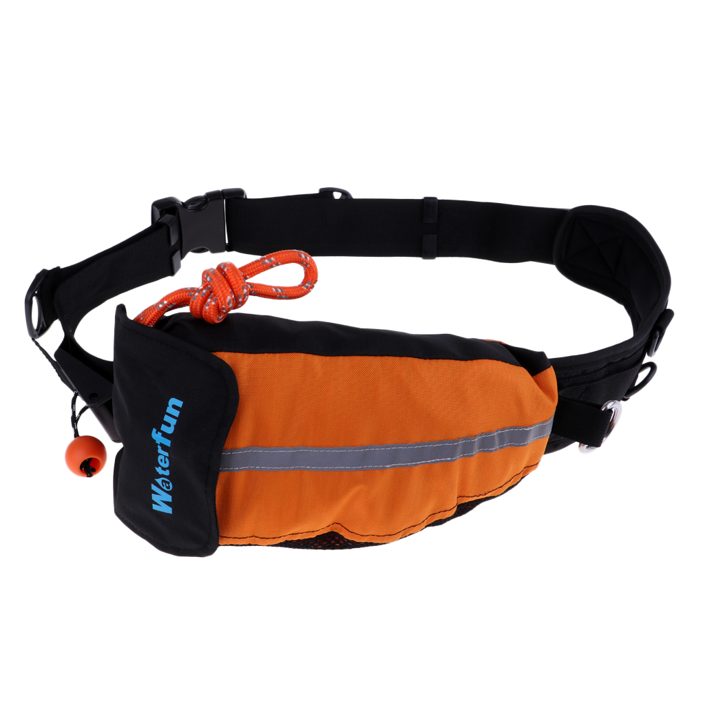 22mx8mm Rescue Rope Throw Bag Reflective Throw Line for Kayaking Boating Ice Fishing Water Rescuing