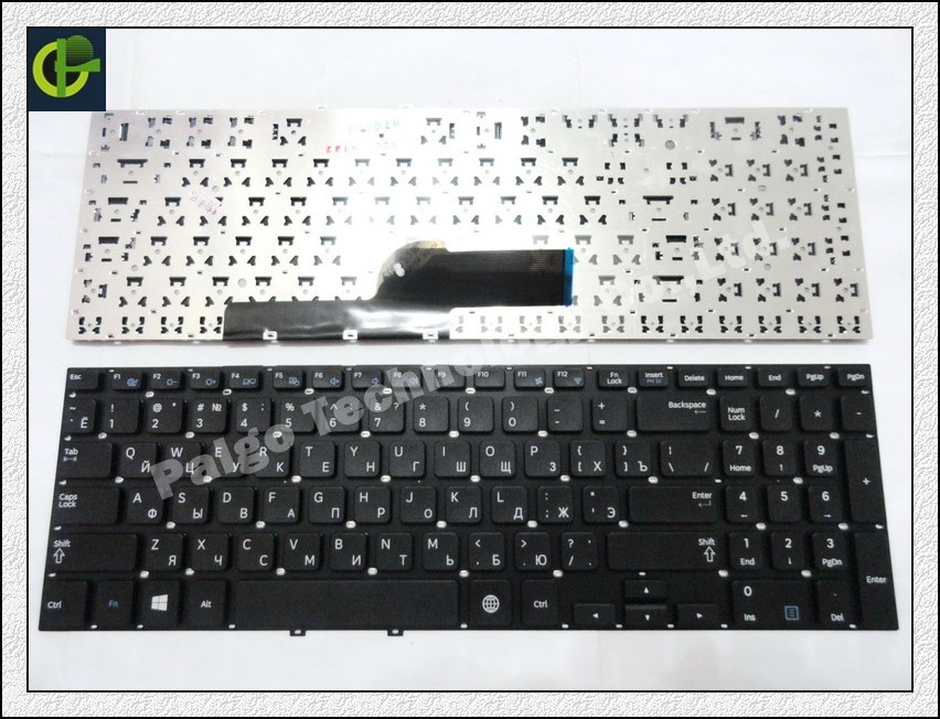 Russian Keyboard for Samsung 550P5C NP550P5C 550P5C-S01 550P5C-S02 550P5C-T01   Black RU laptop keyboard<br><br>Aliexpress