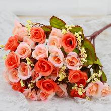 Artificial Flowers Bouquet Bridal Flower